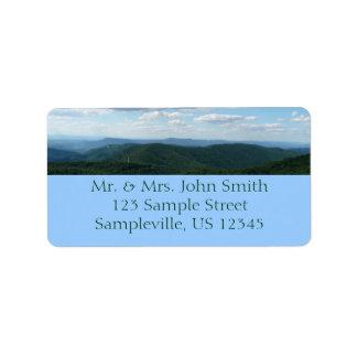Etiqueta Montanhas apalaches mim Shenandoah