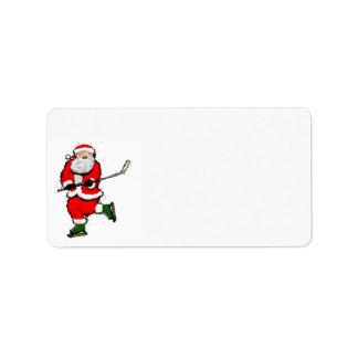Etiqueta Natal do hóquei
