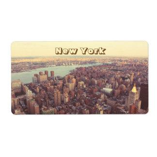 Etiqueta New York, EUA