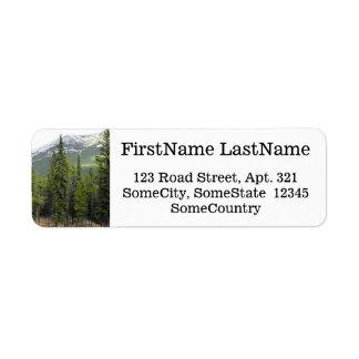 Etiqueta Nome/endereço feitos sob encomenda + Cena da