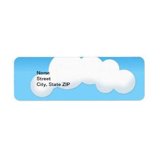 Etiqueta Nuvem