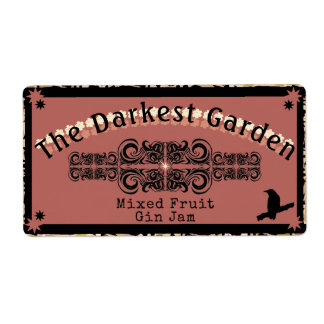 Etiqueta O doce o mais escuro do jardim nunca