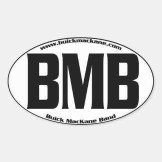 Etiqueta oval de Buick MacKane Adesivo Oval