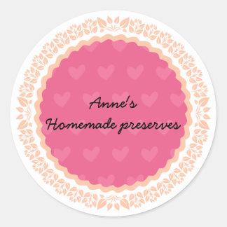 Etiqueta para conservas caseiros II
