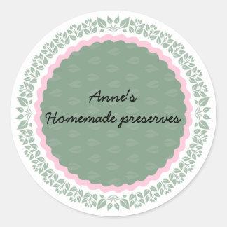 Etiqueta para conservas caseiros IV