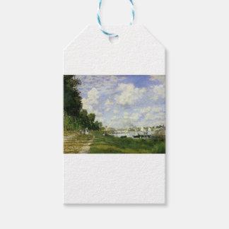 Etiqueta Para Presente A bacia em Argenteuil - Claude Monet