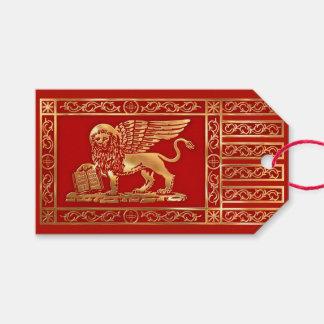 Etiqueta Para Presente A bandeira da república de Veneza