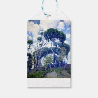 Etiqueta Para Presente A cara aumentou - eucalipto de Laguna - obra-prima