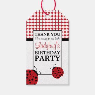 Etiqueta Para Presente A festa de aniversário das crianças vermelhas do