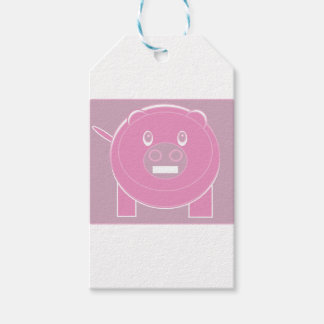 Etiqueta Para Presente A forma fez o porco