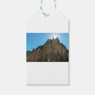 Etiqueta Para Presente A garganta de Boulder reduz o pináculo