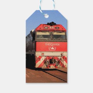 Etiqueta Para Presente A locomotiva do trem de Ghan, Darwin