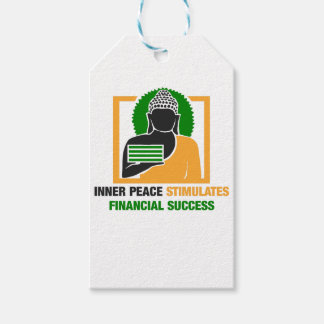 Etiqueta Para Presente A paz interna estimula o sucesso financeiro