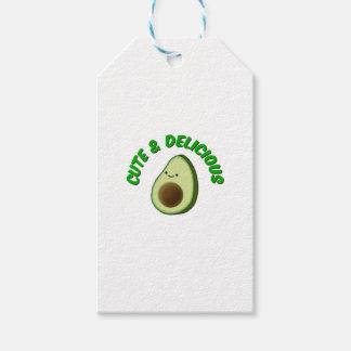 Etiqueta Para Presente Abacate bonito e delicioso