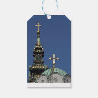 Etiqueta Para Presente Abóbadas ortodoxos da igreja cristã