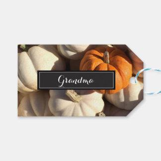 Etiqueta Para Presente Acção de graças, nome personalizado do ajuste de