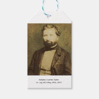 Etiqueta Para Presente Adolfo Charles Adam, 1855