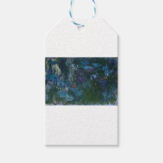 Etiqueta Para Presente Água Lillies