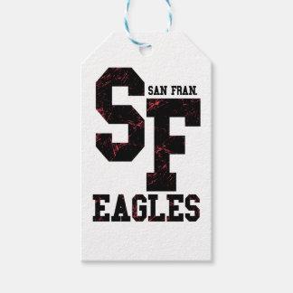 Etiqueta Para Presente Águias de San Fran