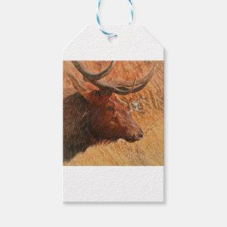Etiqueta Para Presente Alces de Bull