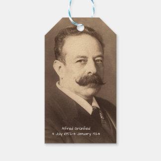 Etiqueta Para Presente Alfred Grunfeld