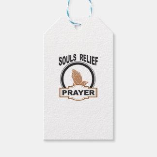 Etiqueta Para Presente alivio das almas
