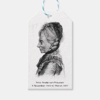 Etiqueta Para Presente Amalie von Preussen de Anna