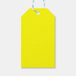 Etiqueta Para Presente Amarelo