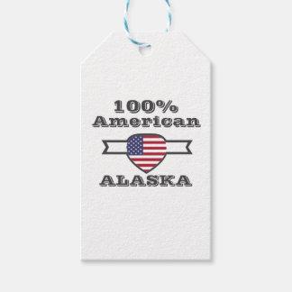 Etiqueta Para Presente Americano de 100%, Alaska