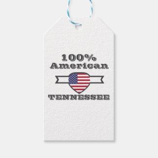 Etiqueta Para Presente Americano de 100%, Tennessee