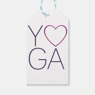 Etiqueta Para Presente amor da ioga