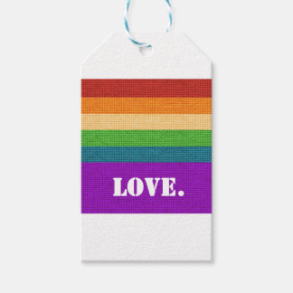 Etiqueta Para Presente Amor de LGBT