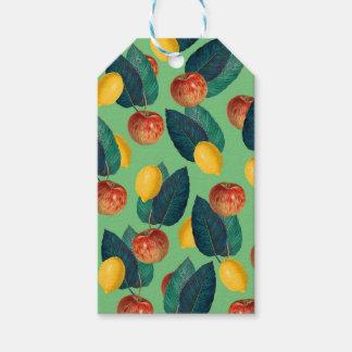Etiqueta Para Presente aples e verde dos limões