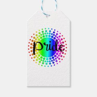 Etiqueta Para Presente Arco-íris do orgulho gay