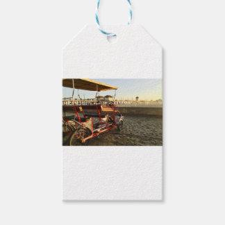 Etiqueta Para Presente Arrendamentos da praia