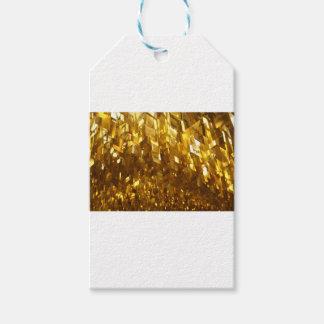 Etiqueta Para Presente Arte abstracta do teto do ouro