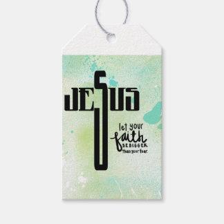 Etiqueta Para Presente Arte da palavra de Jesus