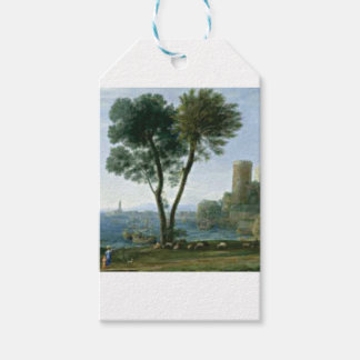 Etiqueta Para Presente árvore na costa