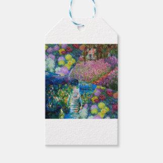 Etiqueta Para Presente As flores no jardim de Monet são originais