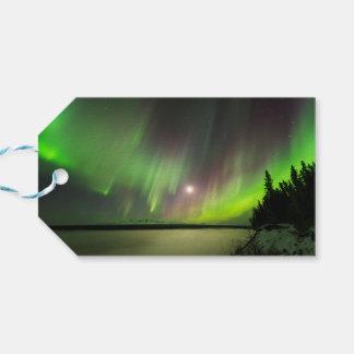 Etiqueta Para Presente Aurora majestosa