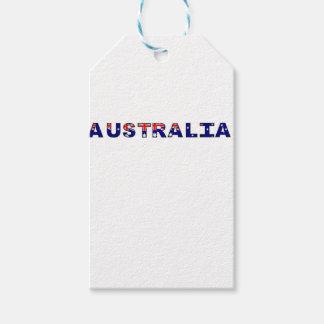 Etiqueta Para Presente Austrália