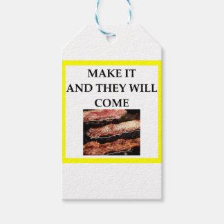 Etiqueta Para Presente bacon