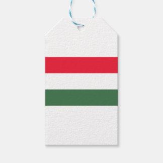 Etiqueta Para Presente Baixo custo! Bandeira de Hungria