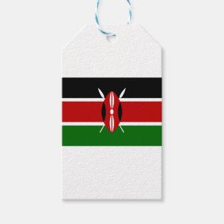 Etiqueta Para Presente Baixo custo! Bandeira de Kenya