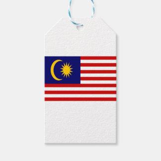 Etiqueta Para Presente Baixo custo! Bandeira de Malaysia