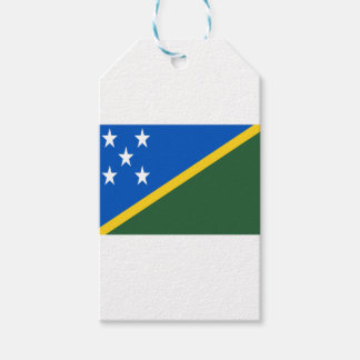 Etiqueta Para Presente Baixo custo! Bandeira de Solomon Island