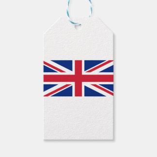"""Etiqueta Para Presente Bandeira BRITÂNICA """"Union Jack """" de Reino Unido da"""