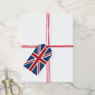 Etiqueta Para Presente Bandeira clássica de Union Jack Reino Unido