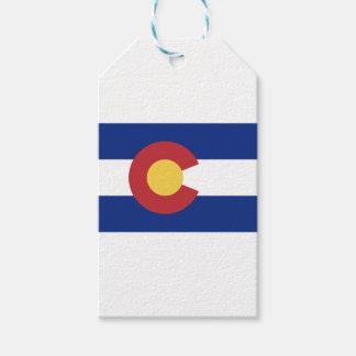 Etiqueta Para Presente Bandeira de Colorado