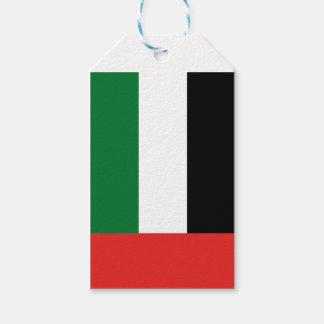 Etiqueta Para Presente Bandeira de Emiradosarabes